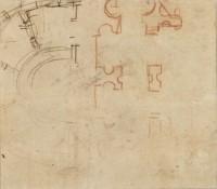 Baldassare Peruzzi für Bramante (?): Wien, Graphische Sammlung Albertina, SR287, R. 116, Inv. Nr. 237v