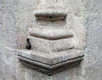 Klosterhof von Santa Maria della Pace in Rom, Detail
