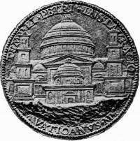 Gründungsmedaille von Caradosso von 1506