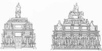 Michelangelos Juliusgrab: Rekonstruktion des Projekts von 1505 (Bredekamp/Klodt)
