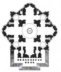 Michelangelos Entwurf für St. Peter