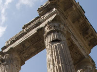 Rom Apollotempel (Detail)