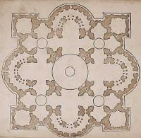 Peruzzis Entwurf für St. Peter, Serlio 3. Buch